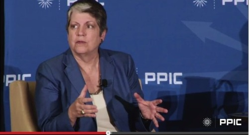 Hooray for Janet Napolitano and her views on online learning (and public HE in general)!