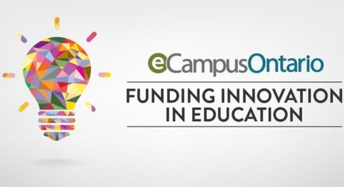 Ontario funds research and innovation in online learning