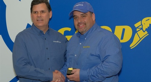 Trucker Who Saved Motorist After Crash Named Goodyear Highway Hero