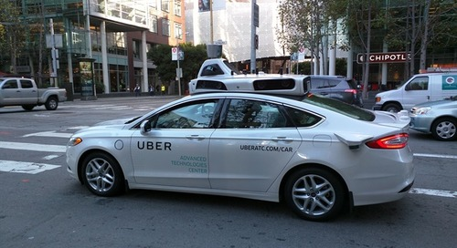 Uber Suspends Self-Driving Tests After Vehicle Kills Pedestrian
