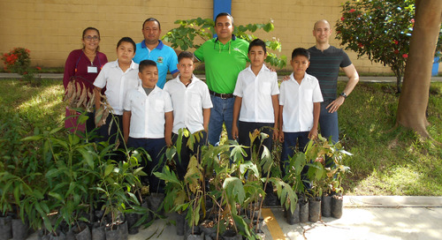 YKK El Salvador implements many sustainable practices to help preserve the environment