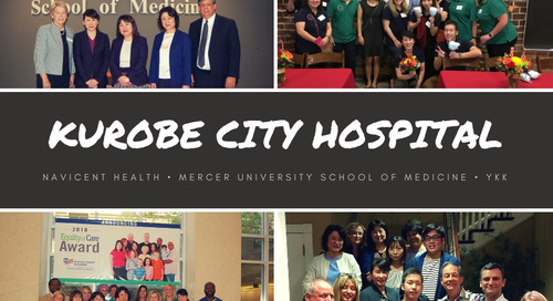Macon-Bibb County Welcomes Kurobe City Hospital Delegation for 15th Year