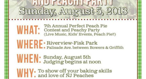 Riverview Farmer's Market Annual Peach Pie Contest is Back!
