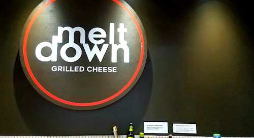 MeltDown Offering Grilled Cheese