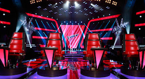 The Voice comes to North Wales.......................