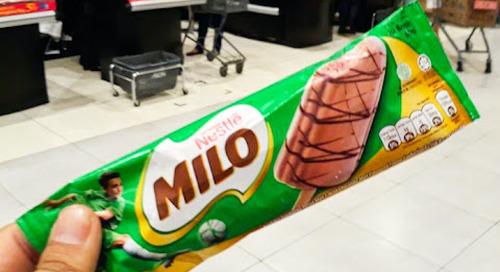 Es Krim Milo Punya Nestlé Masuk Indonesia, Nggak Usah Dicoba?
