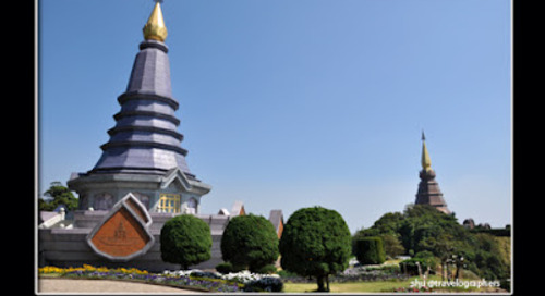 Asia Overland. Menjelajah Doi Inthanon, Titik Tertinggi di Negeri Thailand