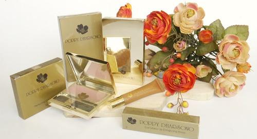 [Review] Poppy Dharsono Makeup Collection: Two Way Cake, Blush On, Eye Makeup Enhancing Base
