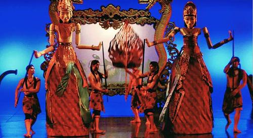 Devdan Show Indonesian Cultural Show.