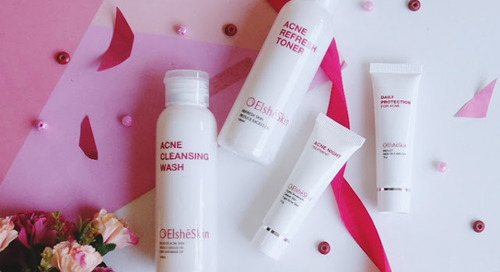 Review Elshe Skin Acne Treatment Series