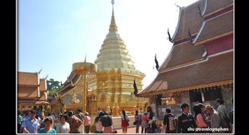 Asia Overland. Wat Phrathat Doi Suthep, Kuil Tersuci dan Tersakral di Chiang Mai.
