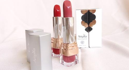 Rekomendasi Lipstick untuk Bulan Ramadhan: Amalia Cosmetics Satin Lipstick