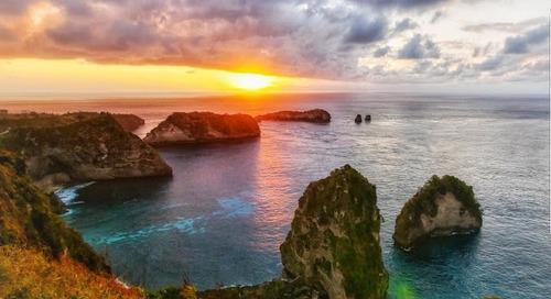 Nusa Penida Spot yang Instagramable di Bali.