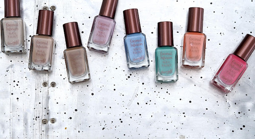 Barry M Coconut Infusion Nail Paints