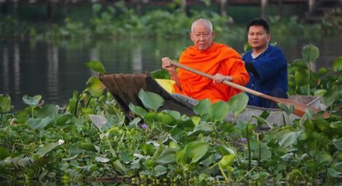 Asyiknya Menyusuri Sungai Mekong, Thailand.