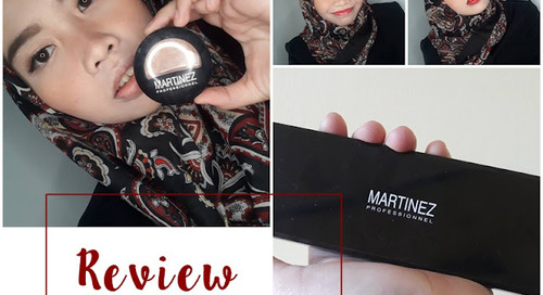 Review Martinez Cosmetics: Artist Glam Blush On & Mademoiselle Lipstick Palette