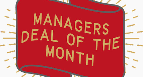 Manager's Second Hand Deal of the Month