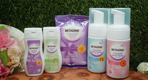 (Bahasa Indonesia) Review: Betadine Feminine Wash - Foam, Liquid, & Wipes