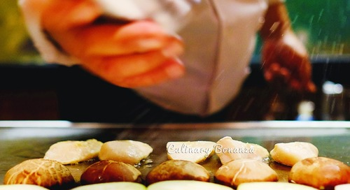 Treat Yourself Today: Have an All You Can Eat Teppanyaki for Lunch!