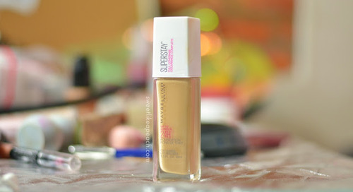 Review Maybelline Superstay 24HR Full Coverage Foundation