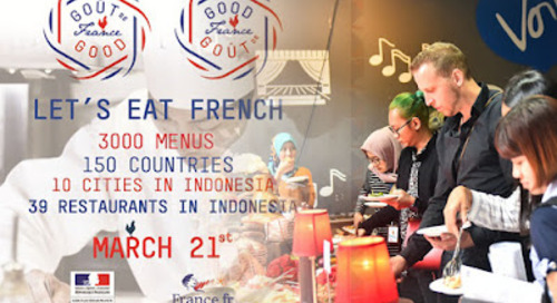 Goût de France/Good France 2018, Press Conference, IFI Indonesia, Central Jakarta