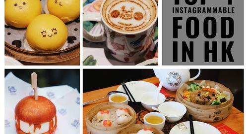 TOP 4 FOOD FOR INSTAGRAM IN HONG KONG!