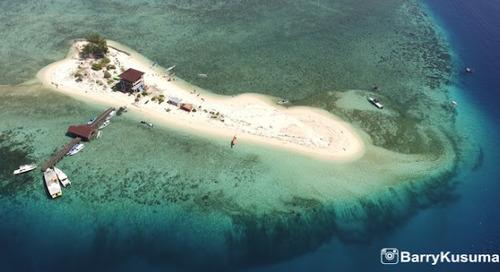 Samalona dan Kodingareng Keke, Pulau indah di kota Makassar.