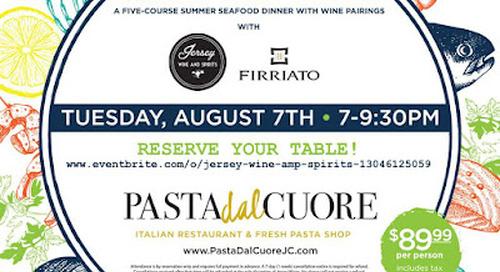Community News: Pasta Dal Cuore Wine Dinner, Zeppelin Hall Tulum Menu, and more