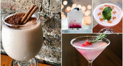 A Bevvy of Holiday Drinks