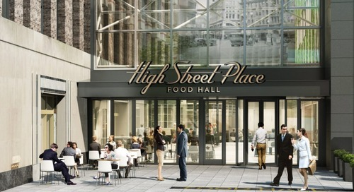 Downtown Food Hall, Opening Fall 2019