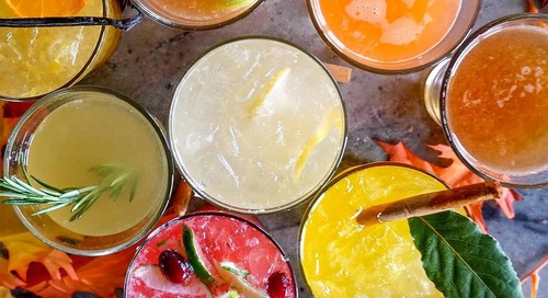 Craft Cocktails at Twenty Nine Rustic Mediterranean