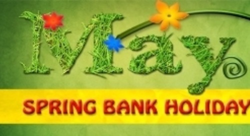 Spring Bank Holiday Availability