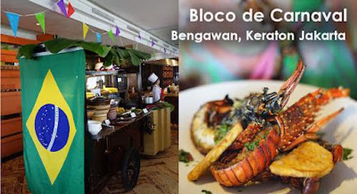 Bloco de Carnaval, Bengawan Restaurant, Keraton, Central Jakarta