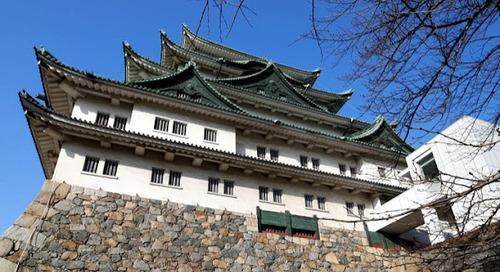 Kemegahan Kastil Nagoya di Jepang.