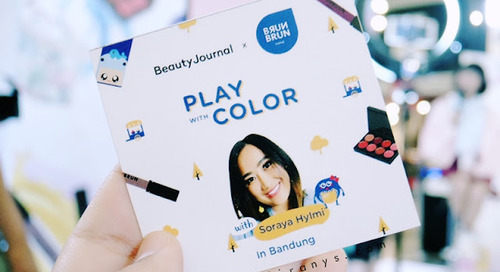 Beauty Journal x Brun Brun Paris PVJ: Play with Color