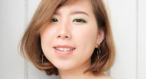 Wearable Colorful Eyeshadow for Daytime Look