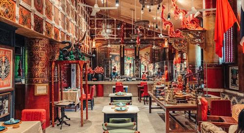 Saigon San ~ Restoran Yang Terinspirasi Royal Angkor di Angkor Wat