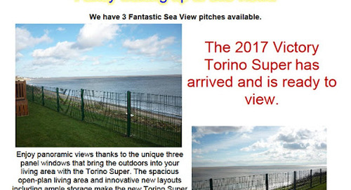 2017 Victory Torino Super with Sea Views