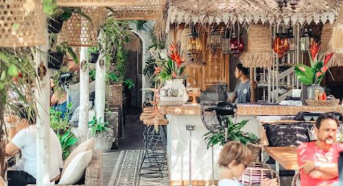 Milu by Nook ~ Dining by The Paddy Fields Experience in Bali