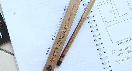 [Review] Poppy Dharsono Eyebrow Pencil Black