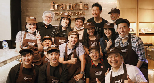 Francis Artisan Bakery Bloggers Baker's Day with Ari Wibowo - First Time Baking Experience