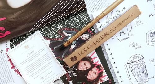 [Review] Poppy Dharsono Eyeliner Pencil (01 Black)