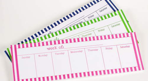 We love finding ways to keep you organized in a simple, classic,...