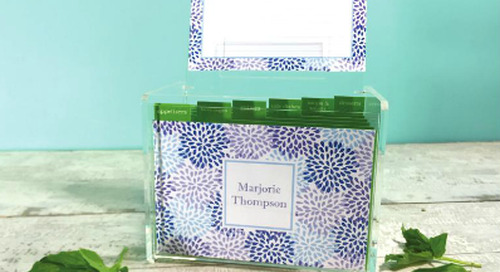 Hosting a bridal shower? Our recipe boxes make a lovely...