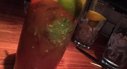 @stksundaybrunchclub #vegas #foodie custom #bloodymarys...