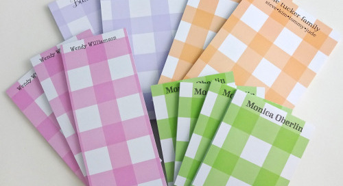 TGIF! Let's celebrate with a PERSONALIZED NOTEPAD GIVEAWAY...