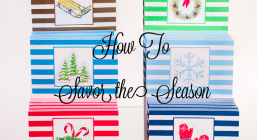 With the holidays upon us, it's easy to be swept up by the...