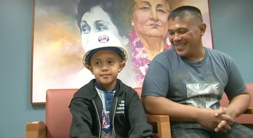 Ordot youngster with a big heart was a big help to GPA linemen