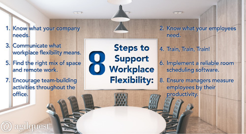 Comment on 8 Ways to Support Workplace Flexibility by Finding Balance - Part 2: The Workplace [+ Workplace Strategies Infographic] | AgilQue