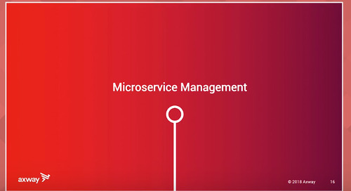 API Conference wrap-up, lesson 3: microservices management